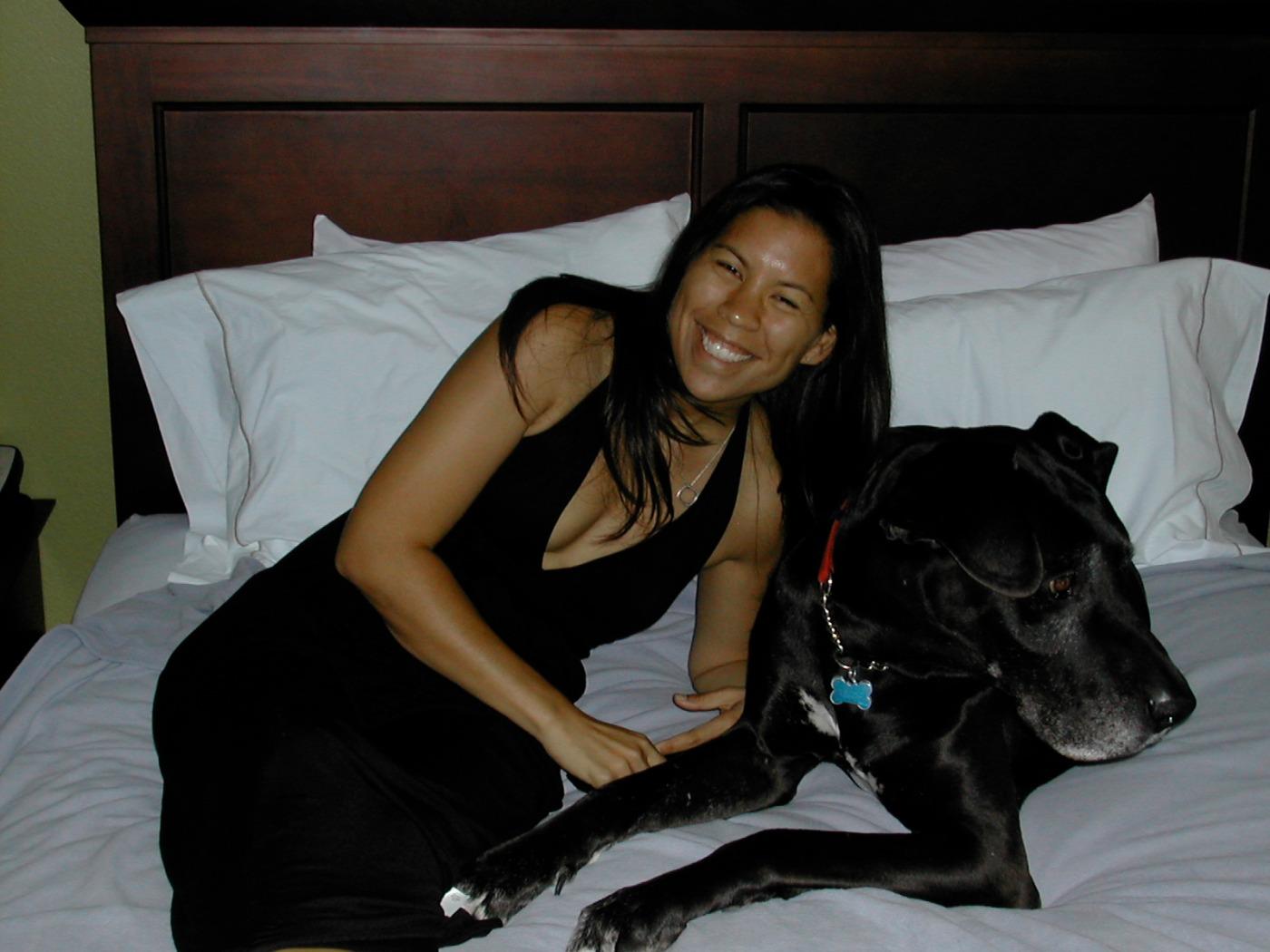 2008.07 Diane + Cash at Marriott